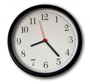 Time magagement; wall clock.