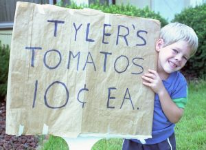 small business advertising - Tyler's Tomatoes