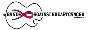 Bands Against Breast Cancer - Guitar logo