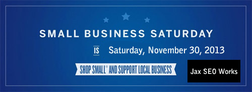 Small Business Saturday banner