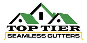 Top Tier Seamless Gutters logo
